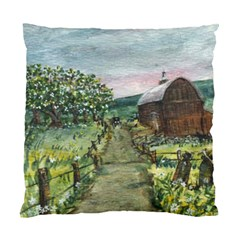 Amish Apple Blossoms  by Ave Hurley of ArtRevu ~ Standard Cushion Case (One Side)