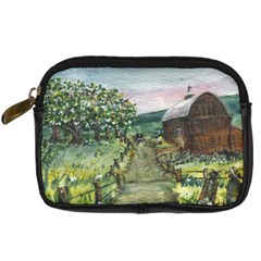 amish Apple Blossoms  By Ave Hurley Of Artrevu   Digital Camera Leather Case