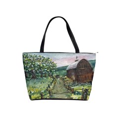 Amish Apple Blossoms  by Ave Hurley of ArtRevu ~ Classic Shoulder Handbag
