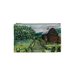 Amish Apple Blossoms  by Ave Hurley of ArtRevu ~ Cosmetic Bag (Small)
