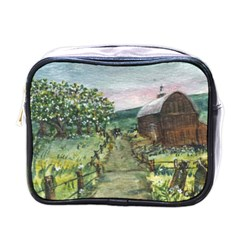 Amish Apple Blossoms  by Ave Hurley of ArtRevu ~ Mini Toiletries Bag (One Side)