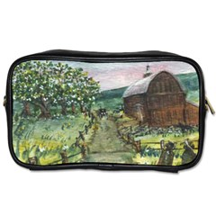 Amish Apple Blossoms  by Ave Hurley of ArtRevu ~ Toiletries Bag (One Side)