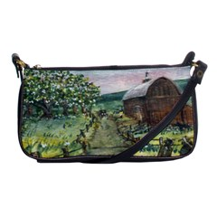 amish Apple Blossoms  By Ave Hurley Of Artrevu   Shoulder Clutch Bag