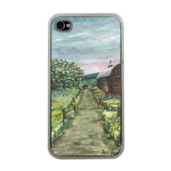 amish Apple Blossoms  By Ave Hurley Of Artrevu   Apple Iphone 4 Case (clear)