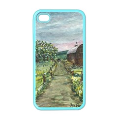 Amish Apple Blossoms  by Ave Hurley of ArtRevu ~ Apple iPhone 4 Case (Color)