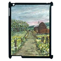amish Apple Blossoms  By Ave Hurley Of Artrevu   Apple Ipad 2 Case (black)