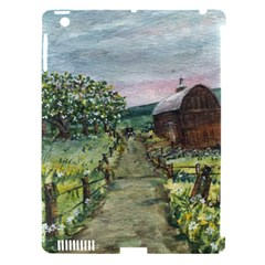 Amish Apple Blossoms  by Ave Hurley of ArtRevu ~ Apple iPad 3/4 Hardshell Case (Compatible with Smart Cover)