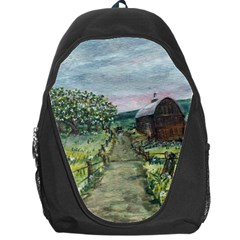 Amish Apple Blossoms  by Ave Hurley of ArtRevu ~ Backpack Bag