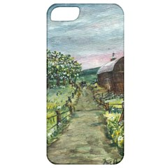 Amish Apple Blossoms  by Ave Hurley of ArtRevu ~ Apple iPhone 5 Classic Hardshell Case