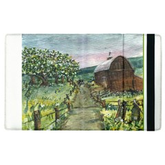 Amish Apple Blossoms  by Ave Hurley of ArtRevu ~ Apple iPad 3/4 Flip Case