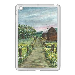 Amish Apple Blossoms  by Ave Hurley of ArtRevu ~ Apple iPad Mini Case (White)
