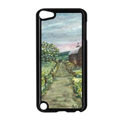 Amish Apple Blossoms  by Ave Hurley of ArtRevu ~ Apple iPod Touch 5 Case (Black)