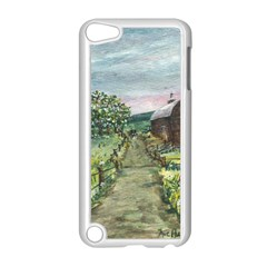 Amish Apple Blossoms  by Ave Hurley of ArtRevu ~ Apple iPod Touch 5 Case (White)