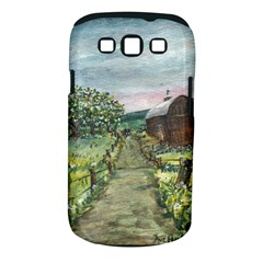 Amish Apple Blossoms  by Ave Hurley of ArtRevu ~ Samsung Galaxy S III Classic Hardshell Case (PC+Silicone)