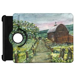 Amish Apple Blossoms  by Ave Hurley of ArtRevu ~ Kindle Fire HD Flip 360 Case