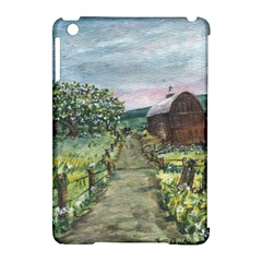Amish Apple Blossoms  by Ave Hurley of ArtRevu ~ Apple iPad Mini Hardshell Case (Compatible with Smart Cover)