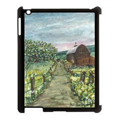 Amish Apple Blossoms  by Ave Hurley of ArtRevu ~ Apple iPad 3/4 Case (Black)