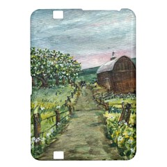 Amish Apple Blossoms  by Ave Hurley of ArtRevu ~ Kindle Fire HD 8.9  Hardshell Case