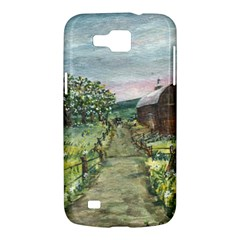 Amish Apple Blossoms  by Ave Hurley of ArtRevu ~ Samsung Galaxy Premier I9260 Hardshell Case
