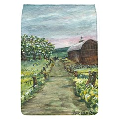 Amish Apple Blossoms  by Ave Hurley of ArtRevu ~ Removable Flap Cover (S)