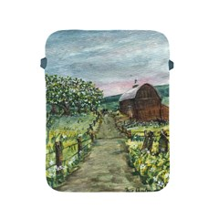 Amish Apple Blossoms  by Ave Hurley of ArtRevu ~ Apple iPad 2/3/4 Protective Soft Case