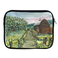 Amish Apple Blossoms  by Ave Hurley of ArtRevu ~ Apple iPad 2/3/4 Zipper Case
