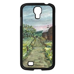 Amish Apple Blossoms  by Ave Hurley of ArtRevu ~ Samsung Galaxy S4 I9500/ I9505 Case (Black)