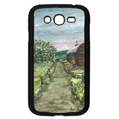Amish Apple Blossoms  by Ave Hurley of ArtRevu ~ Samsung Galaxy Grand DUOS I9082 Case (Black)