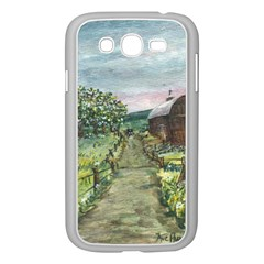 Amish Apple Blossoms  by Ave Hurley of ArtRevu ~ Samsung Galaxy Grand DUOS I9082 Case (White)