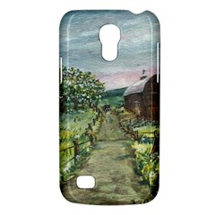 Amish Apple Blossoms  by Ave Hurley of ArtRevu ~ Samsung Galaxy S4 Mini (GT-I9190) Hardshell Case
