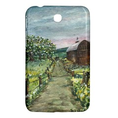 Amish Apple Blossoms  by Ave Hurley of ArtRevu ~ Samsung Galaxy Tab 3 (7 ) P3200 Hardshell Case