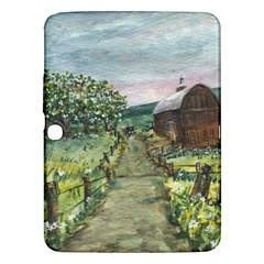Amish Apple Blossoms  by Ave Hurley of ArtRevu ~ Samsung Galaxy Tab 3 (10.1 ) P5200 Hardshell Case