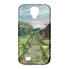 Amish Apple Blossoms  by Ave Hurley of ArtRevu ~ Samsung Galaxy S4 Classic Hardshell Case (PC+Silicone)