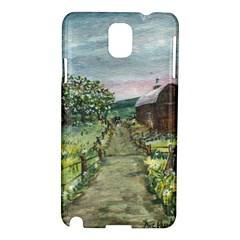 amish Apple Blossoms  By Ave Hurley Of Artrevu   Samsung Galaxy Note 3 N9005 Hardshell Case