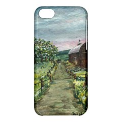 Amish Apple Blossoms  by Ave Hurley of ArtRevu ~ Apple iPhone 5C Hardshell Case