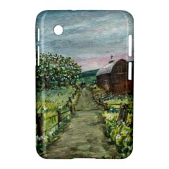 Amish Apple Blossoms  by Ave Hurley of ArtRevu ~ Samsung Galaxy Tab 2 (7 ) P3100 Hardshell Case