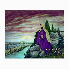 Jesus Overlooking Jerusalem - Ave Hurley - ArtRave - Glasses Cloth (Small)