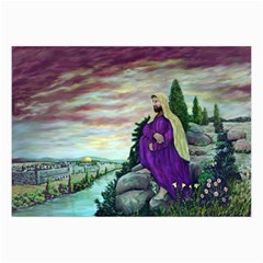 Jesus Overlooking Jerusalem - Ave Hurley - ArtRave - Canvas 20  x 30  (Unframed)