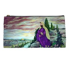 Jesus Overlooking Jerusalem   Ave Hurley   Artrave   Pencil Case