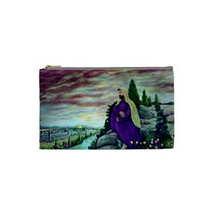 Jesus Overlooking Jerusalem - Ave Hurley - ArtRave - Cosmetic Bag (Small)