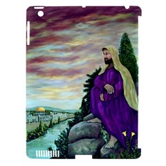 Jesus Overlooking Jerusalem   Ave Hurley   Artrave   Apple Ipad 3/4 Hardshell Case (compatible With Smart Cover)