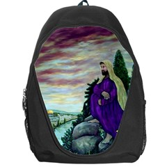 Jesus Overlooking Jerusalem - Ave Hurley - ArtRave - Backpack Bag