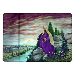 Jesus Overlooking Jerusalem - Ave Hurley - ArtRave - Samsung Galaxy Tab 10.1  P7500 Flip Case