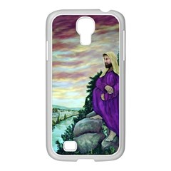Jesus Overlooking Jerusalem - Ave Hurley - ArtRave - Samsung GALAXY S4 I9500/ I9505 Case (White)