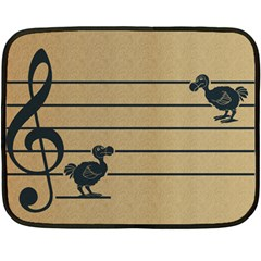Octave dodos Mini Fleece Blanket (Single Sided)