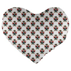 Love 19  Premium Heart Shape Cushion