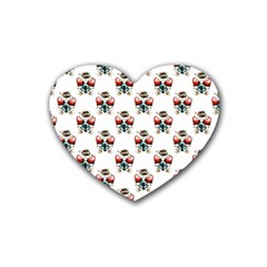 Love Drink Coasters 4 Pack (Heart)