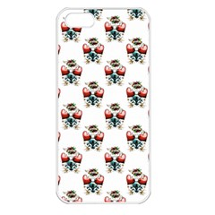 Love Apple iPhone 5 Seamless Case (White)