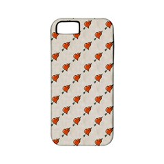 Hearts Apple iPhone 5 Classic Hardshell Case (PC+Silicone)