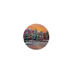 Jane s Winter Sunset   by Ave Hurley of ArtRevu ~ 1  Mini Button